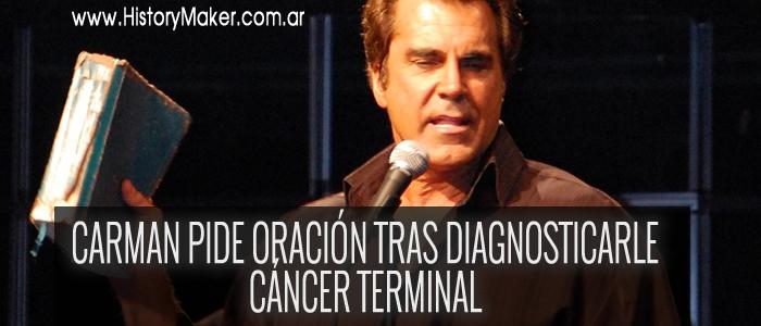 Carman pide oración tras padecer cáncer terminal