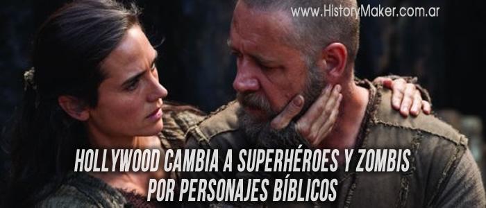 Hollywood cambia a superhéroes y zombis por personajes bíblicos