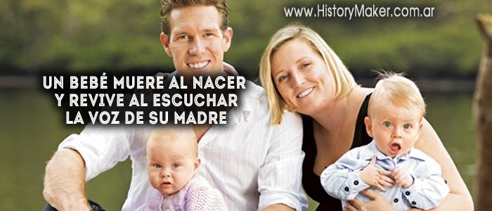 Un bebé muere al nacer y revive al escuchar la voz de su madre