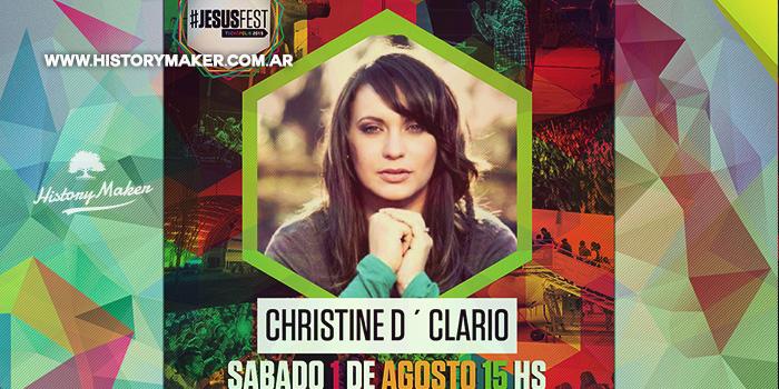 Christine-D'Clario-estará-en-el-Jesus-Fest-junto-a-Ale-Gómez