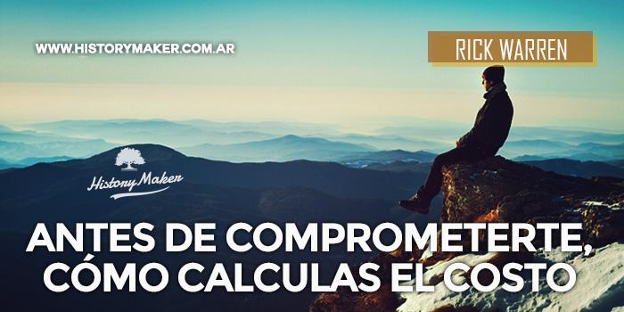 Antes-de-Comprometerte,-Cómo-calculas-el-Costo-Por-Rick-Warren