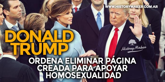 Donald-Trump-ordena-eliminar-página-creada-para-apoyar-homosexualidad