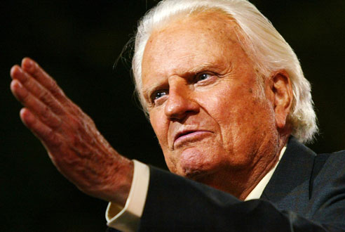 billy graham admitado en los estados unidos