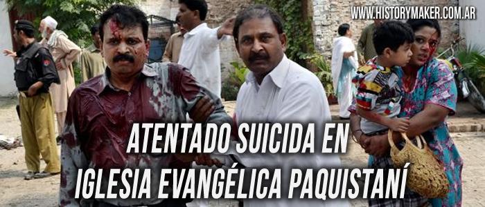Atentado Suicida en Iglesia Evangélica Paquistaní
