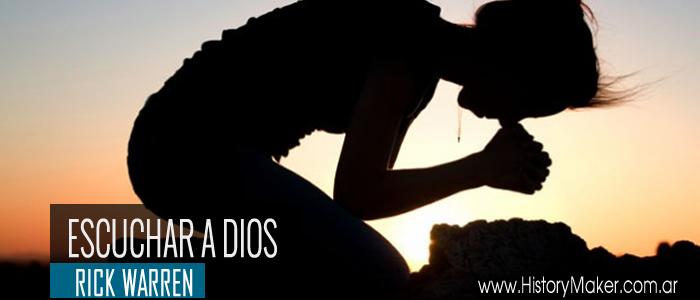 Para escuchar a Dios, hay que acercarse a Dios