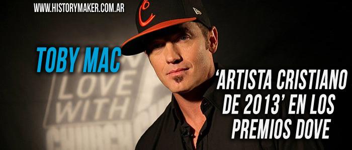 Toby Mac, 'artista cristiano de 2013' en los Premios Dove