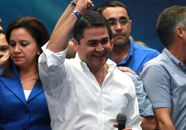 Presidente electo de Honduras confía Dios
