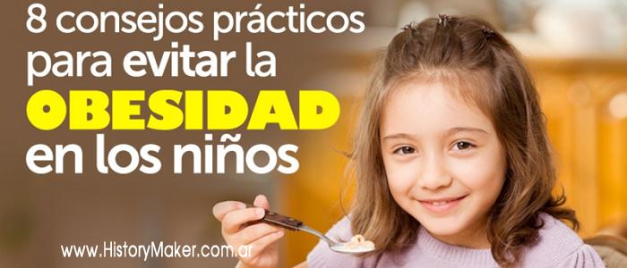 8 Consejos prácticos para evitar la obesidad en los niños