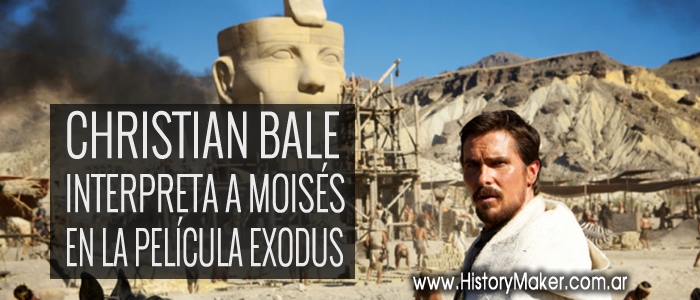Christian Bale moises exodus