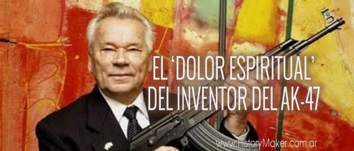 El dolor espiritual del inventor de la AK-47