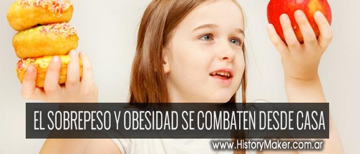 El sobrepeso y la obesidad se combaten desde casa