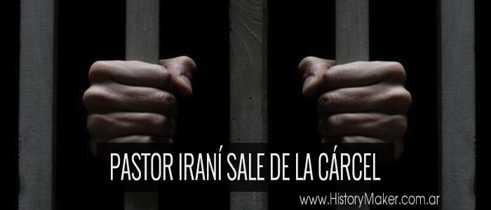 Pastor iraní sale de la cárcel