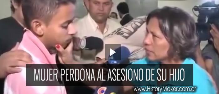 mujer perdona al asesino de su hijo oro por ti cada dia