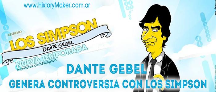 Dante Gebel genera controversia con los Simpson