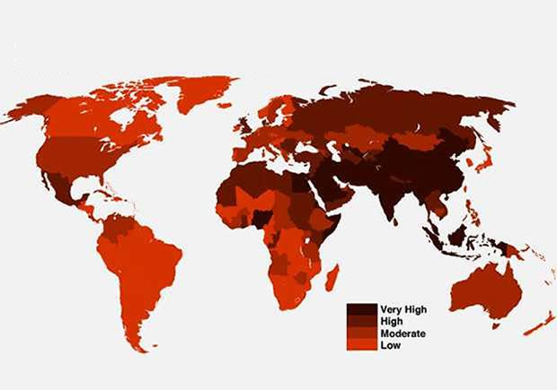 El planeta Tierra, más hostil a la fe