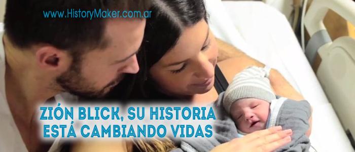 Zión Blick historia cambia vidas