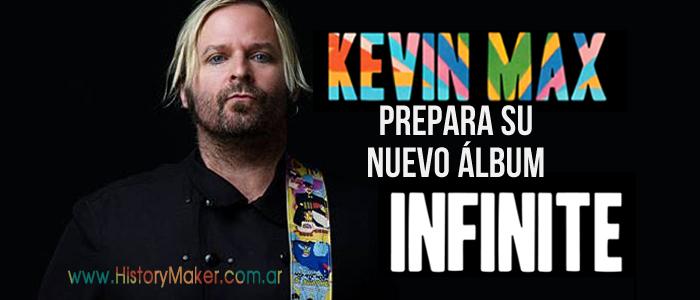 Kevin Max prepara su nuevo álbum 'Infinite' y habla de DcTalk
