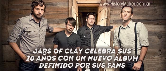 Jars of Clay celebra sus 20 años con un nuevo álbum definido por sus fans