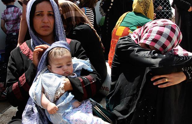 Mosul se venden chicas por 150 dólares
