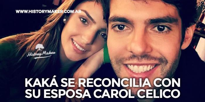 Kaká-se-reconcilia-esposa-Carol-Celico