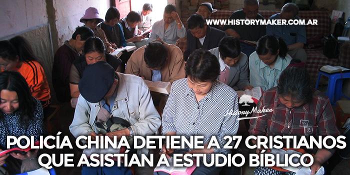 Policía-china-detiene-a-27-cristianos-que-asistían-a-estudio-bíblico