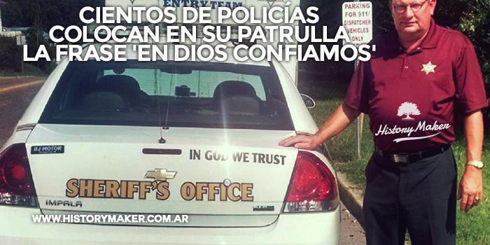 Cientos-policías-colocan-en-su-patrulla-la-frase-'En-Dios-Confiamos'